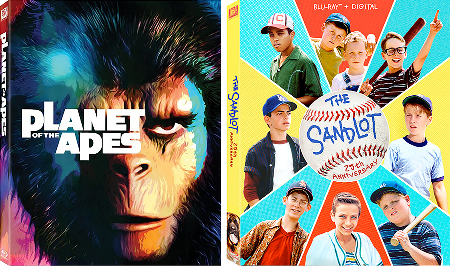 Fox Bows Anniversary Editions of 'Planet of the Apes' and 'Sandlot'