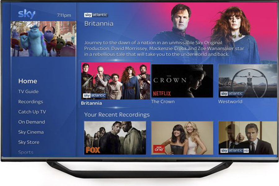 Netflix and Sky Ink European Pact