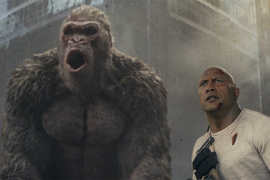 'Rampage' Leads Disc Sales for July