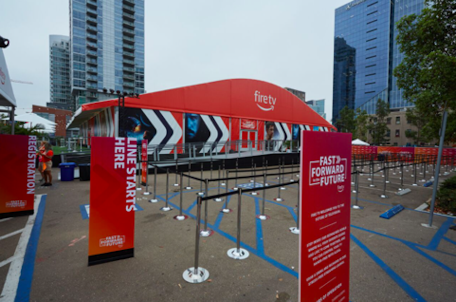 Amazon Fire TV Hosts 'Fast Forward to the Future' Pavilion at Comic-Con