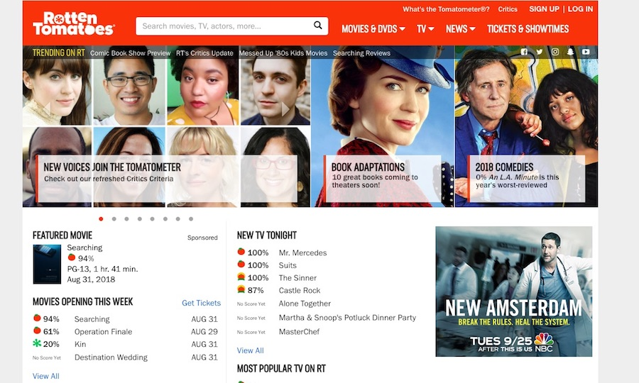 Rotten Tomatoes Expands Pool of Critics