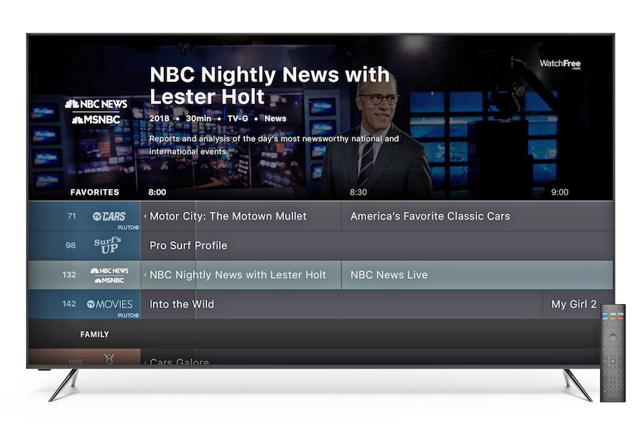 Vizio Rolls Out Free Streaming Service With Pluto TV