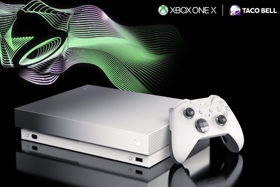Xbox Partners With Taco Bell to Give Away Xbox One X Consoles