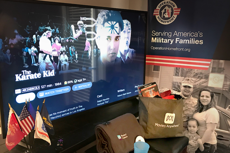 Movies Anywhere Hosts Movie Nights for Military Families