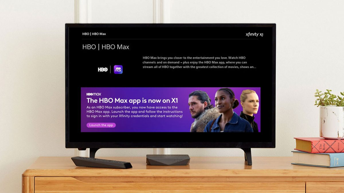 HBO Max App Comes to Comcast's Xfinity X1 and Flex