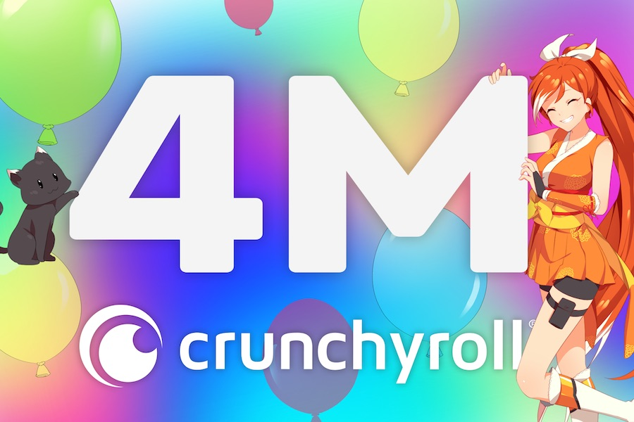 Crunchyroll Reaches 4M Subs, Inks Deal With Elbas for New Series